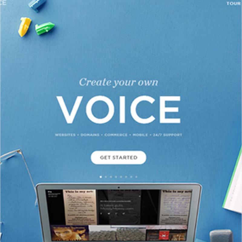 15 nuevos ejemplos de sitios web con color azul
