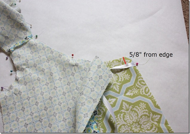 Reversible Dress Insert Ribbon Tie