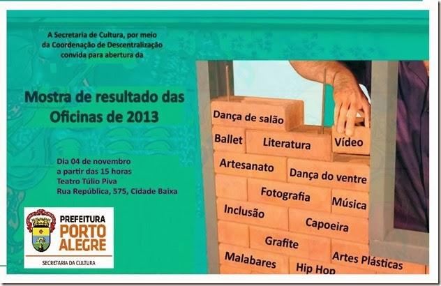 Convite mostra 2013