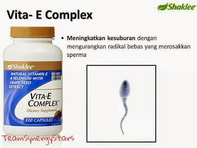 Vitamin E Shaklee Untuk Kesihatan Lelaki.