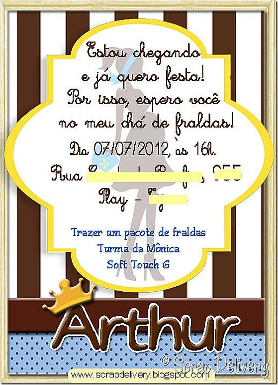 Convite Naila - G