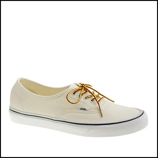 Vans for JCrew Canvas Sneakers