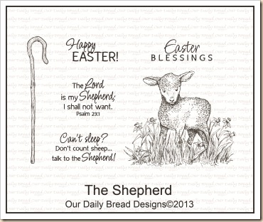 The Shepherd, Our Daily Bread designs