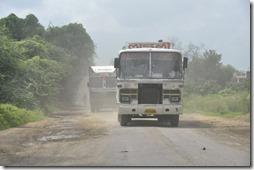 route gwailor orchha 017 etat de la route