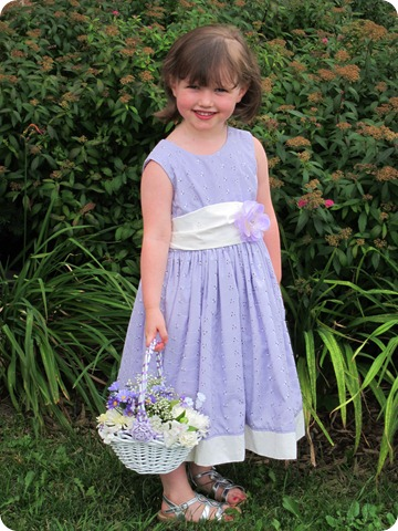Eyelet Flower Girl Dress