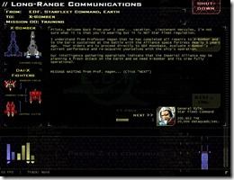 Star Fleet X bomber freeware game (2)