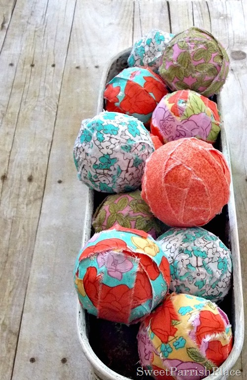 Fabric Covered Balls6