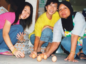 Fenomena telur berdiri Ini mungkin sebabnya