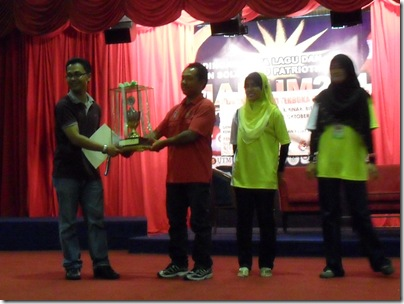 The Winner of UPSI Open 2011