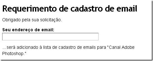 feeds por e-mail