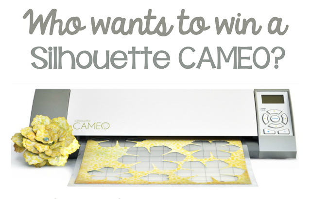 HINT CAMEO giveaway #Silhouette