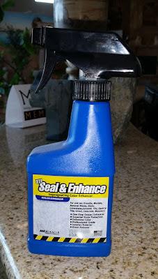 8 oz Spray 511 Seal & Enhance - Color enhancing stone sealer