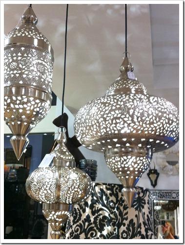silver Indian lantern