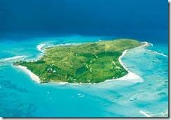 リチャードブロンソンの島