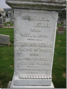 Fredericka Wilzinski Benas