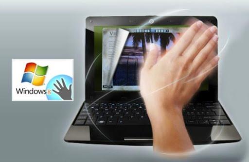Windows 8 - Controle por gestos
