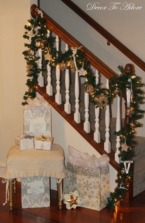 Decor To Adore~ Fireplace mantle 128
