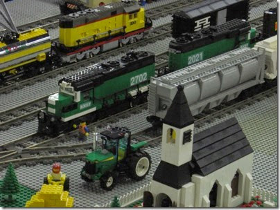 IMG_0244 Greater Portland Lego Railroaders Layout at the Great Train Expo in Portland, Oregon on February 16, 2008