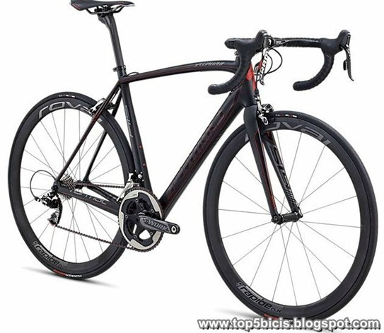 specialized S-WORKS TARMAC SL4 RED 2013
