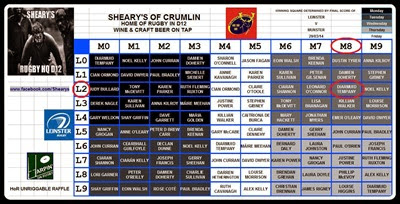 SHEARYS FINAL GRID
