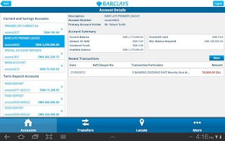 Screenshot of Barclays Zambia