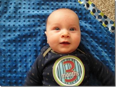 14.  Knox at 3 months