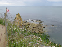 From Pointe du Hoc