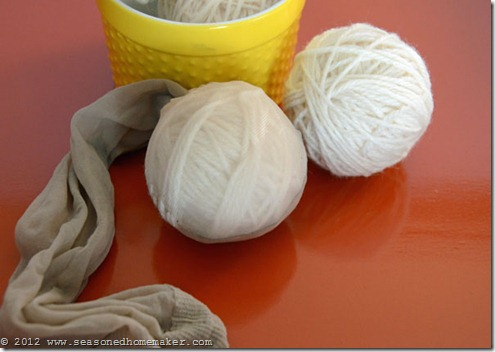 Felted Wool Dryer Balls 12