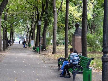 Obiective turistice Chisinau: Aleea Clasicilor