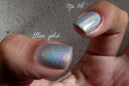 Comparação Ellen Gold- Nfu Oh - Sol