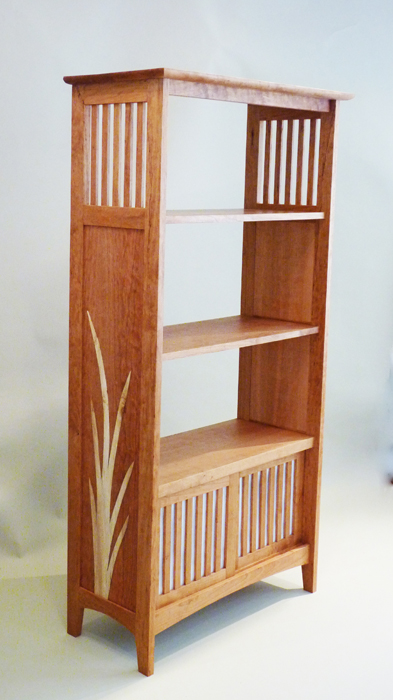 ... An Organic Flair To A Traditional Arts And Craft Bookcase ...