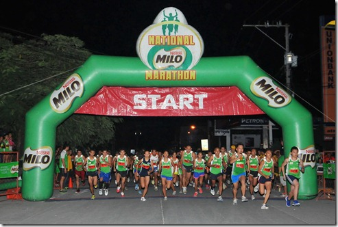 A massive 6,153 runners joined the thrilling action at the 8th qualifying leg of the country's premiere foot race, the 37th Nat