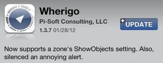 Wherigo 1.3.7