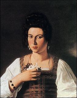 Caravage, Portrait de courtisane