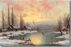 christiansen-nils-hans-1850-19-skating-at-sunset-1013020