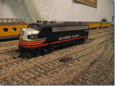 IMG_0491 Southern Pacific FP7 #6458 on My Layout on April 6, 2008