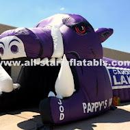 Inflatable Hog Razorback Mascot.JPG