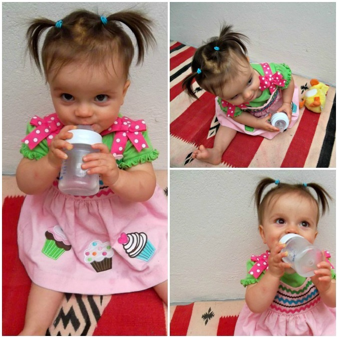 baby coconut water collage
