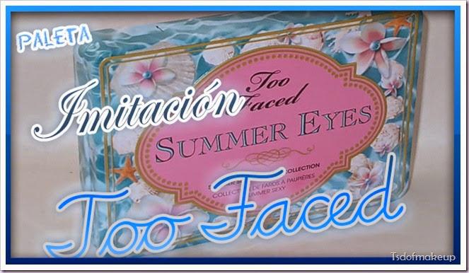 Portada imitacion too faced summer