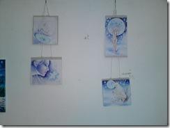 Desene inspirate din poeziile Floare Albastra si Craiasa din poveswti de Mihai Eminescu