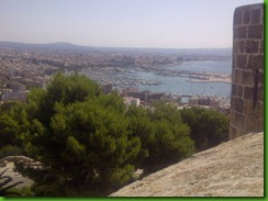 A view of Palma from Bellver Castle