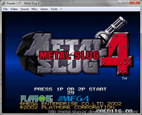 Free Download Metal Slug 4 PC Games ~ Metal Slug PC Games Download