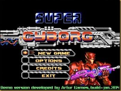 Super Cyborgタイトル
