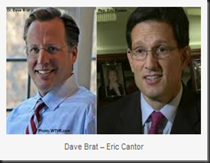 Dave Brat - Eric Cantor
