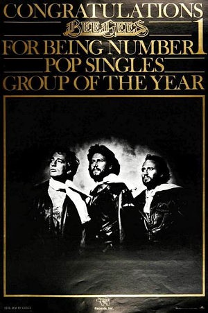Congratulations for being number one pop group