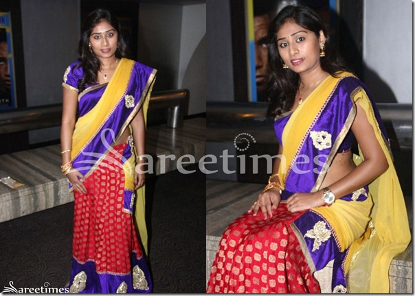 Archana_Half_Saree