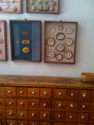 a wall in one of my favorite shops - tender buttons in new york.