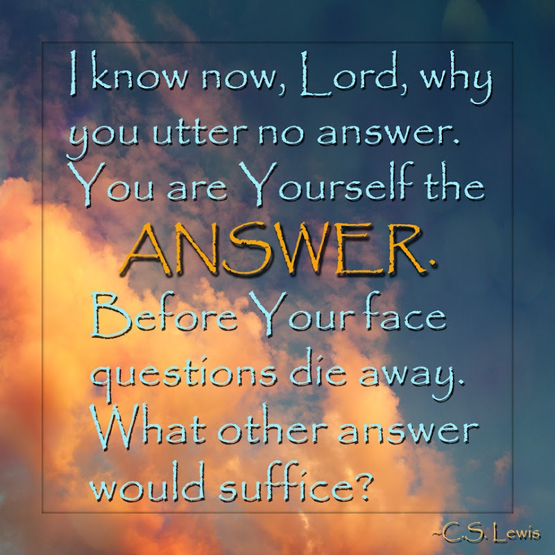 CS Lewis- Answer web