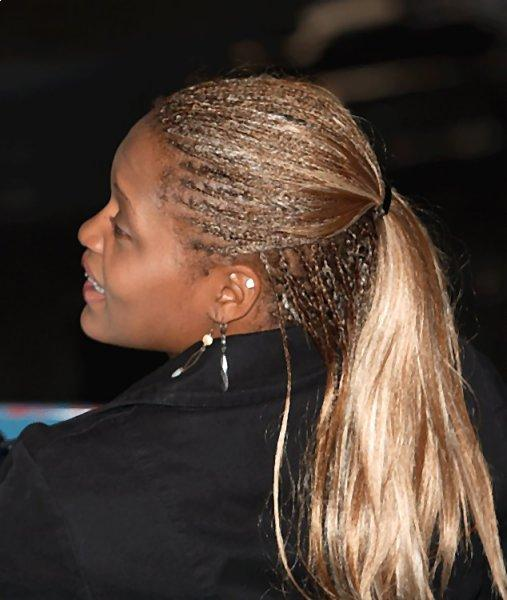 Corn Rows and Corn Sillk haircut for women
