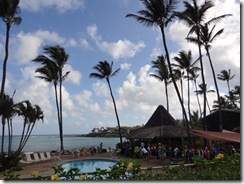 マウイ島のレストランガゼボ